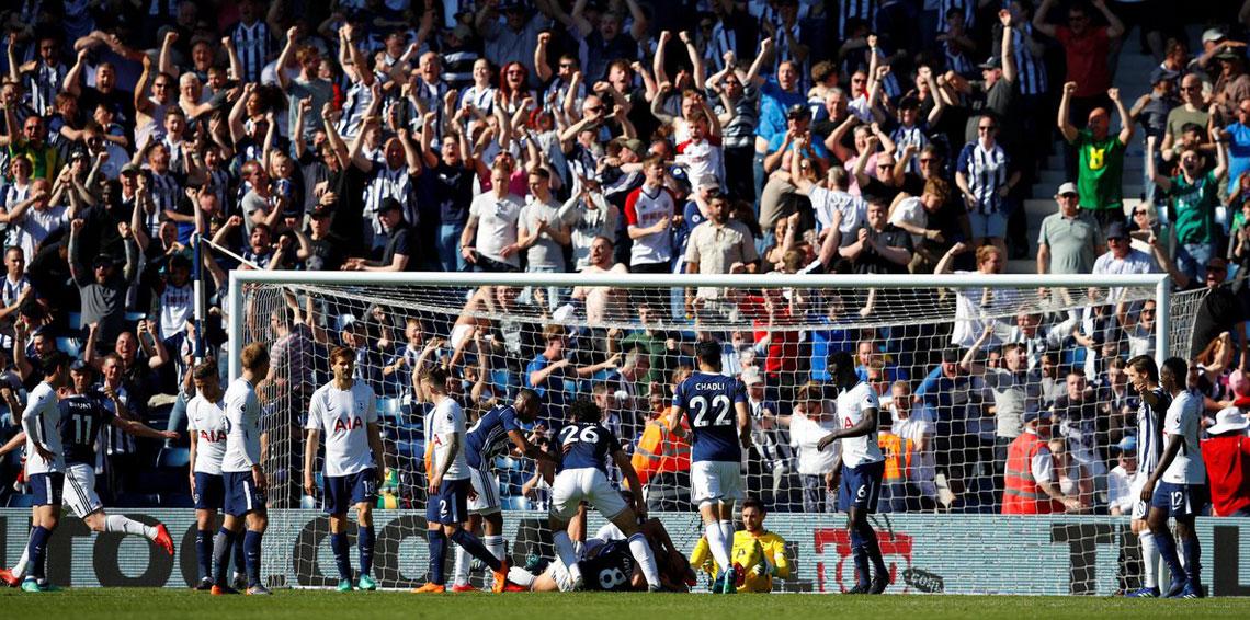أهداف مباراة ويست بروميتش وتوتنهام 1-0 الدوري الإنجليزي