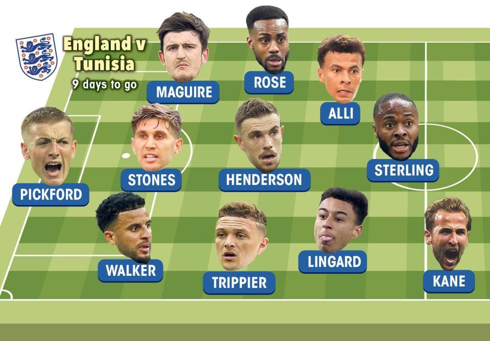 تعرف على ملامح تشكيلة إنجلترا في كأس العالم روسيا 2018