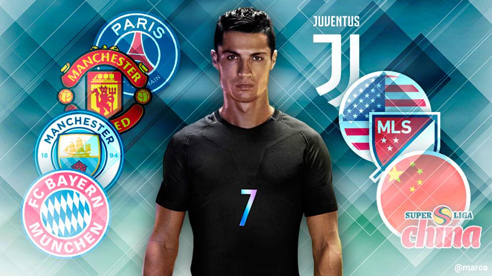 7 وجهات تنتظر رونالدو بعد ريال مدريد