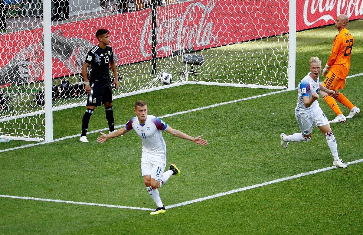 أهداف مباراة الأرجنتين وأيسلندا 1-1 كأس العالم 2018