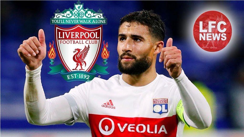 """رسمياً … نادي ليون يعلن فشل انتقال """"نبيل فقير"""" إلى ليفربول"""