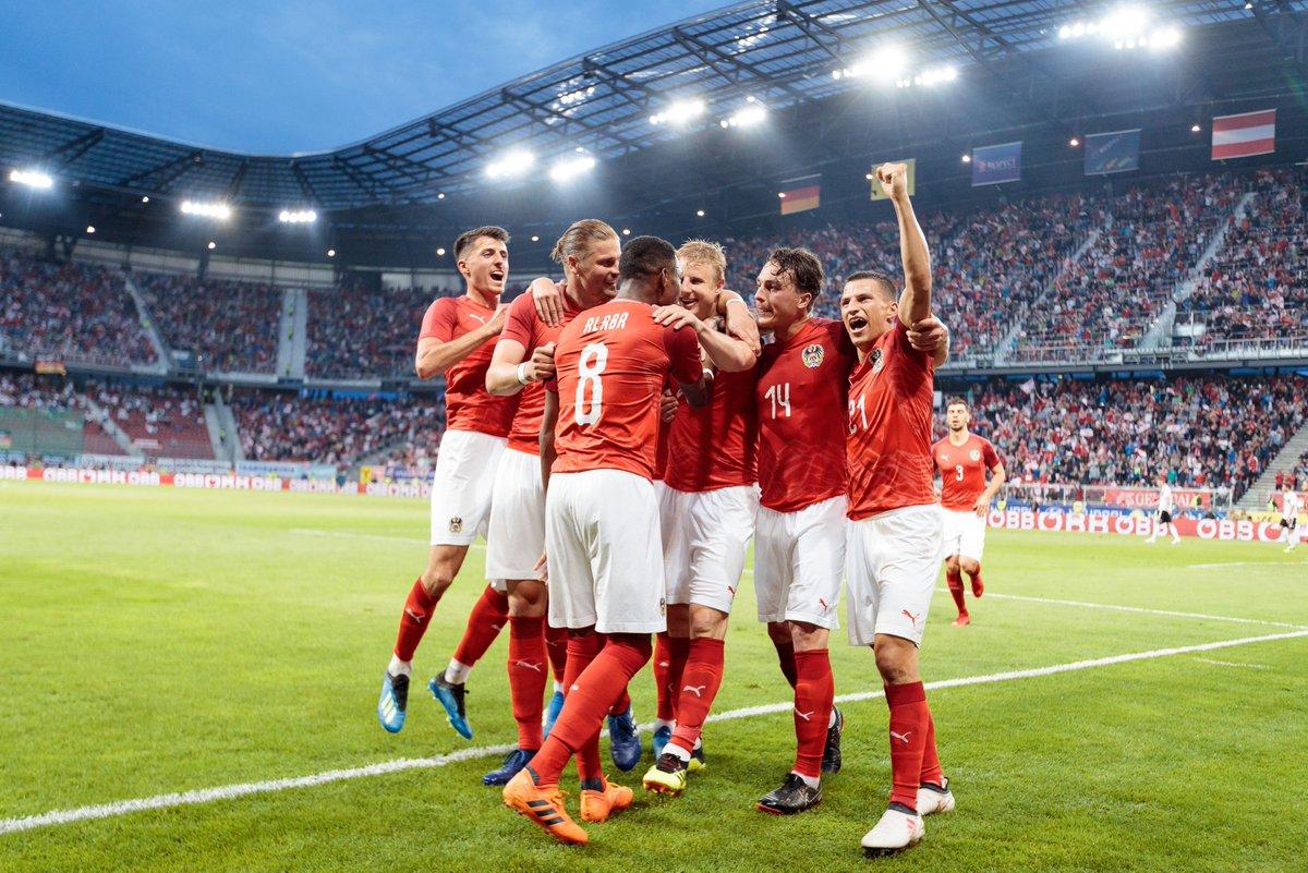 أهداف مباراة النمسا وألمانيا 2-1 مباراة ودية
