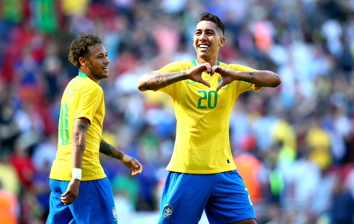 أهداف مباراة البرازيل وكرواتيا 2-0 مباراة ودية