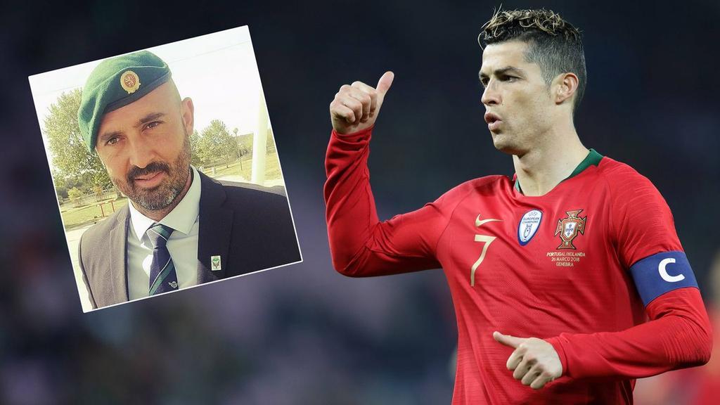 شاهد … رونالدو يختار مصارع ثيران لمرافقته طوال فترة كأس العالم