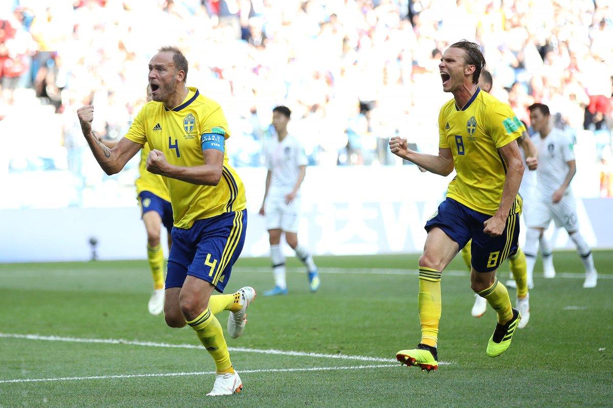 أهداف مباراة السويد وكوريا الجنوبية 1-0 كأس العالم 2018