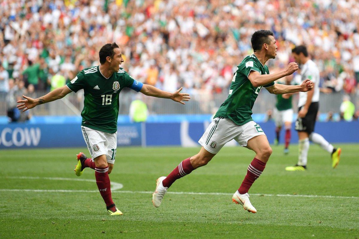 أهداف مباراة المكسيك وألمانيا 1-0 كأس العالم 2018