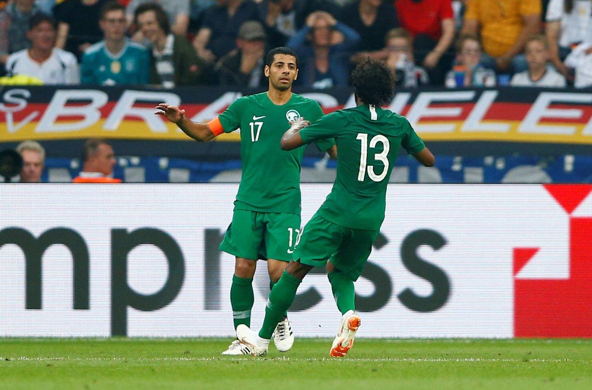 أهداف مباراة ألمانيا والسعودية 2-1 مباراة ودية