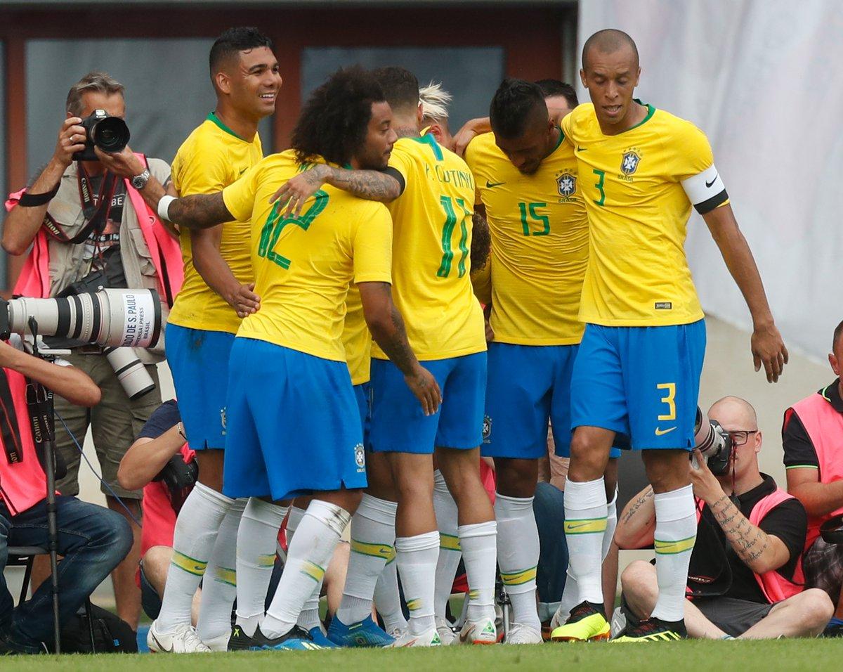 أهداف مباراة البرازيل والنمسا 3-0 مباراة ودية
