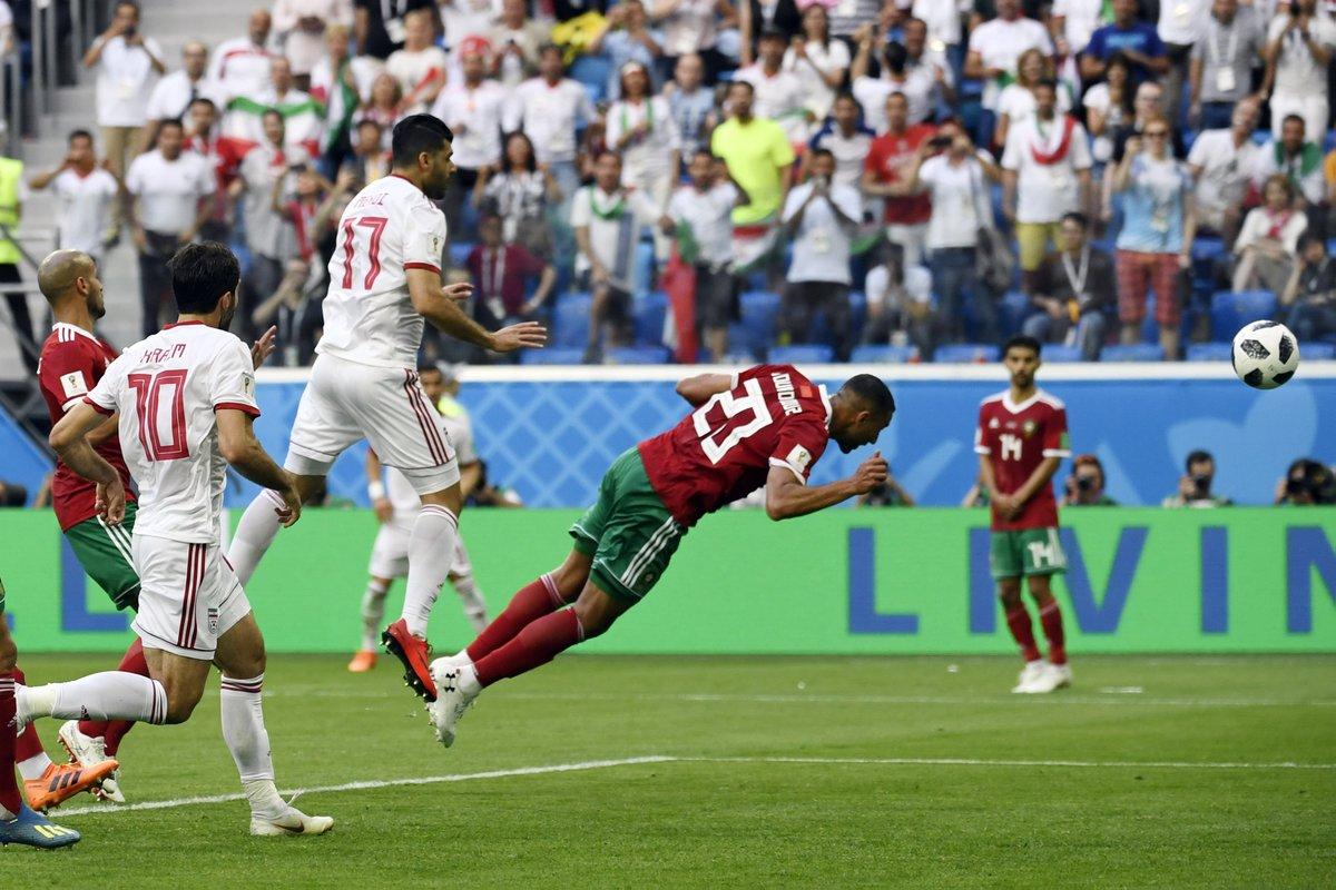 أهداف مباراة إيران والمغرب 1-0 كأس العالم 2018
