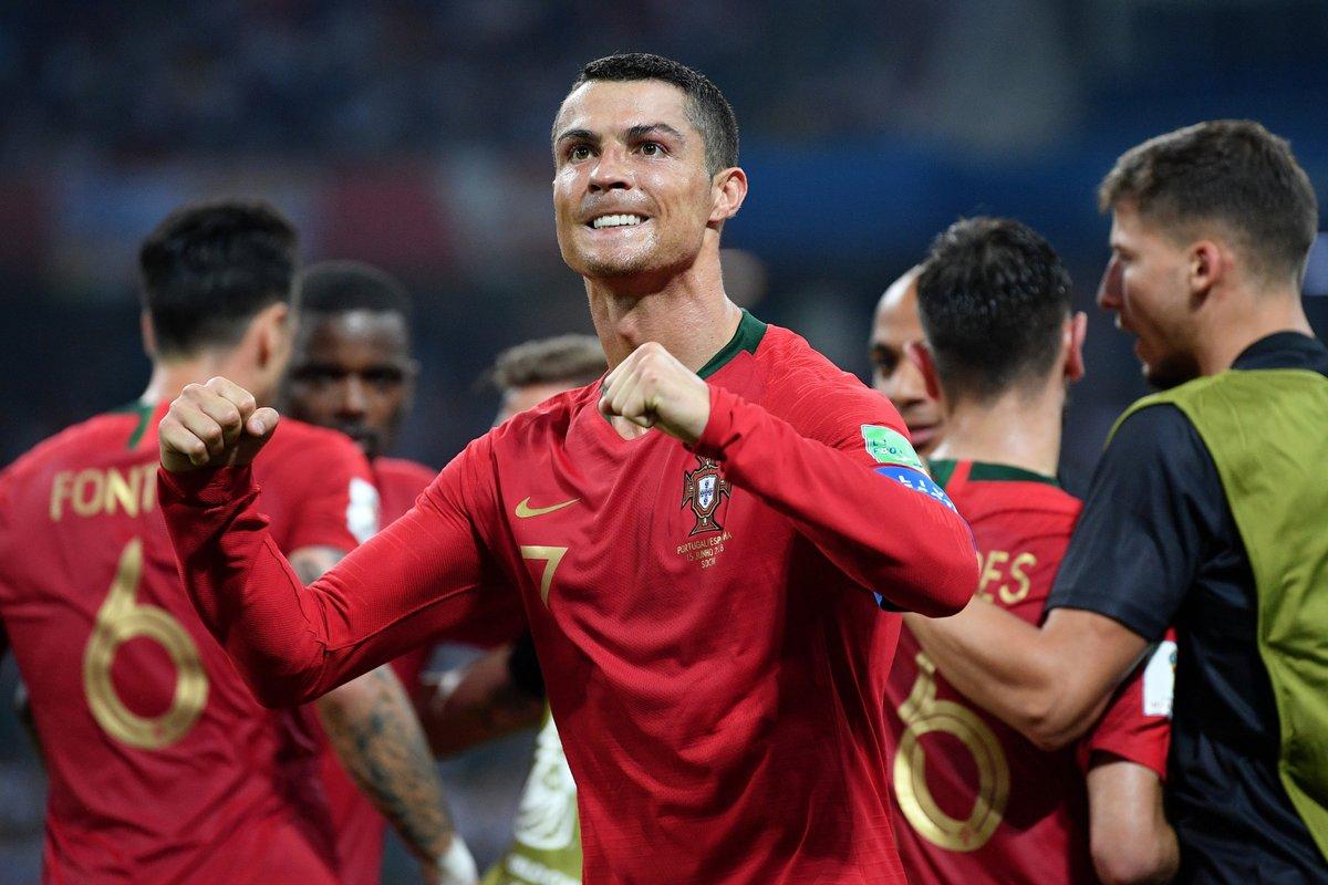 أهداف مباراة البرتغال وإسبانيا 3-3 كأس العالم 2018