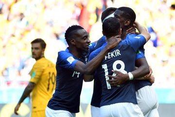 أهداف مباراة فرنسا وأستراليا 2-1 كأس العالم 2018