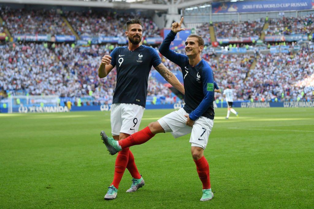 أهداف مباراة فرنسا والأرجنتين 4-3 كأس العالم 2018