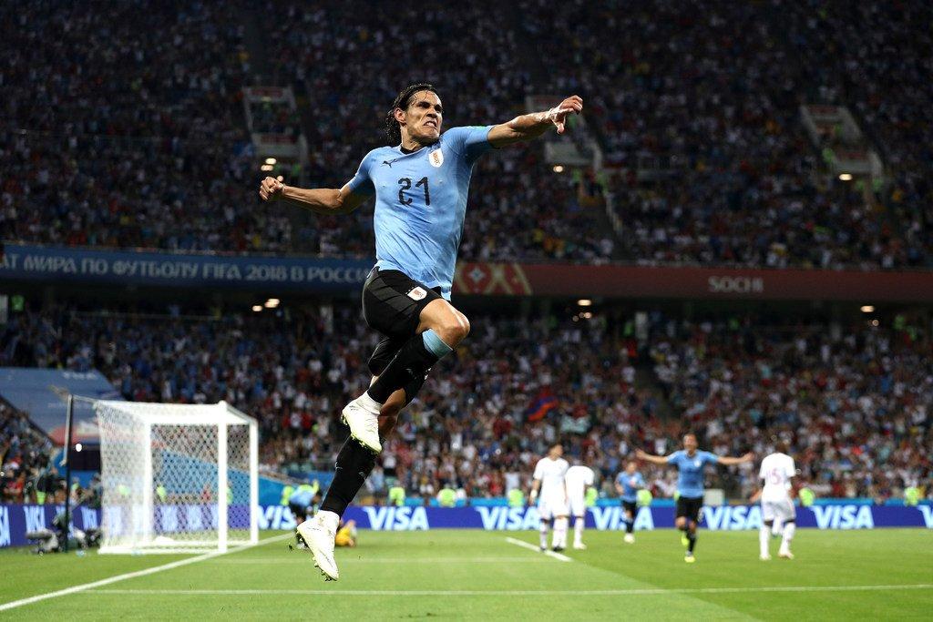 أهداف مباراة الأوروغواي والبرتغال 2-1 كأس العالم 2018