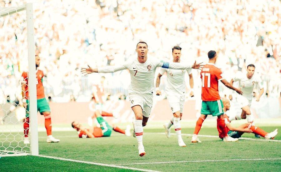 أهداف مباراة البرتغال والمغرب 1-0 كأس العالم 2018