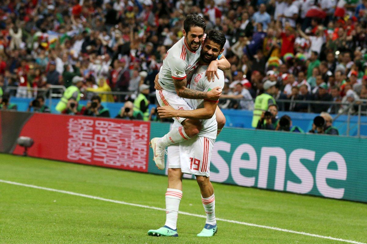 أهداف مباراة إسبانيا وإيران 1-0 كأس العالم 2018