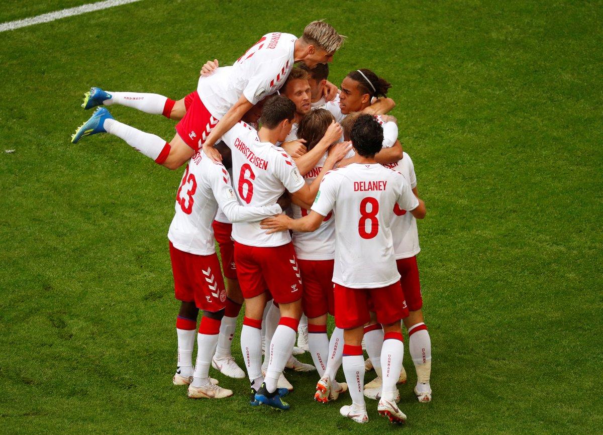 أهداف مباراة الدنمارك وأستراليا 1-1 كأس العالم 2018