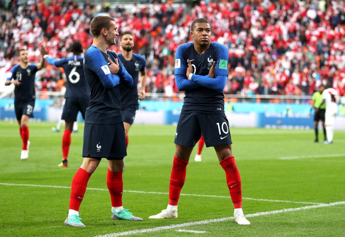 أهداف مباراة فرنسا والبيرو 1-0 كأس العالم 2018