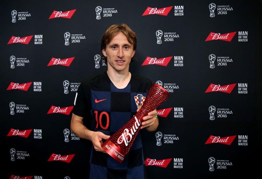 رسمياً … لوكا مودريتش رجل مباراة كرواتيا والأرجنتين