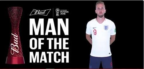رسمياً … هاري كين رجل مباراة إنجلترا وبنما