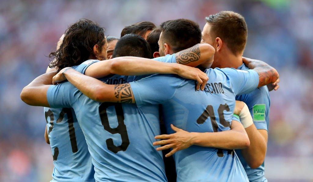 اهداف مباراة الأوروجواي وروسيا 3-0 كأس العالم 2018