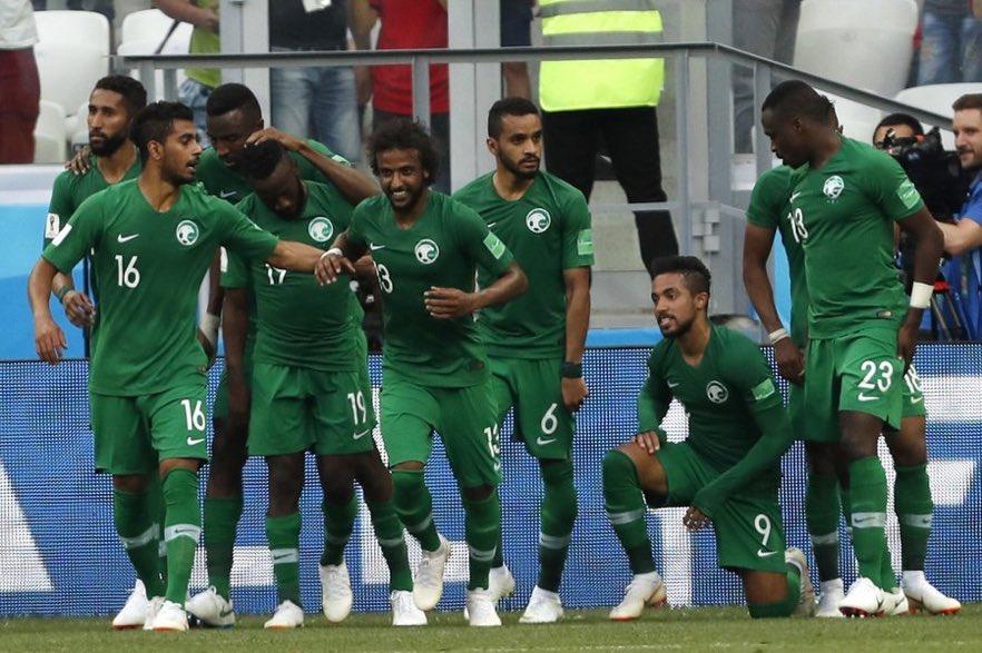 أهداف مباراة السعودية ومصر 2-1 كأس العالم 2018