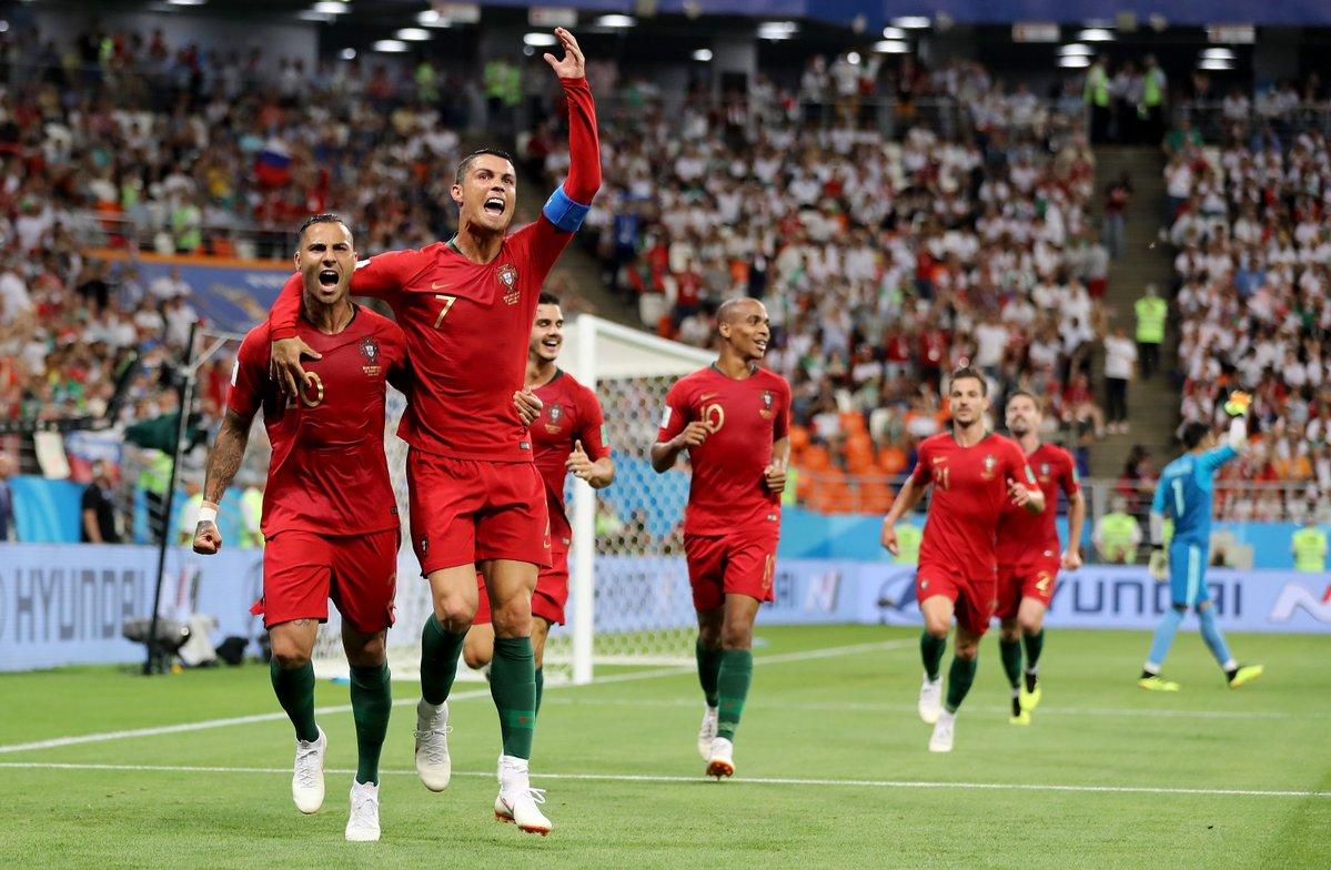 أهداف مباراة البرتغال وإيران 1-1 كأس العالم 2018