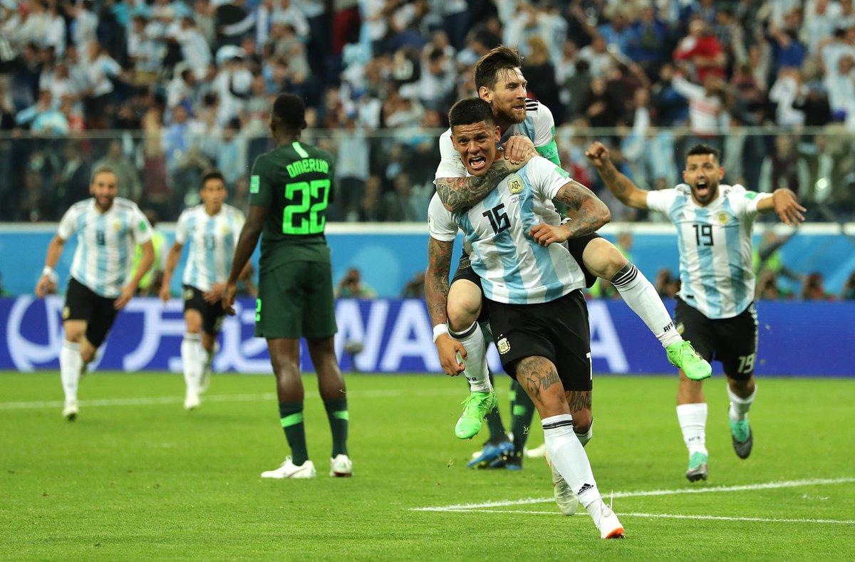 أهداف مباراة الأرجنتين ونيجيريا 2-1 كأس العالم 2018