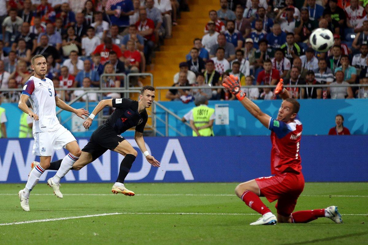 أهداف مباراة كرواتيا وأيسلندا 2-1 كأس العالم 2018