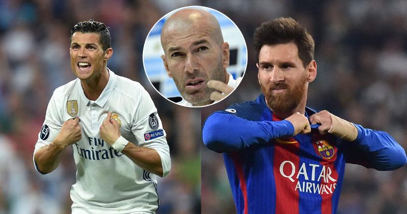 ميسي يعلق على رحيل زيدان عن ريال مدريد !