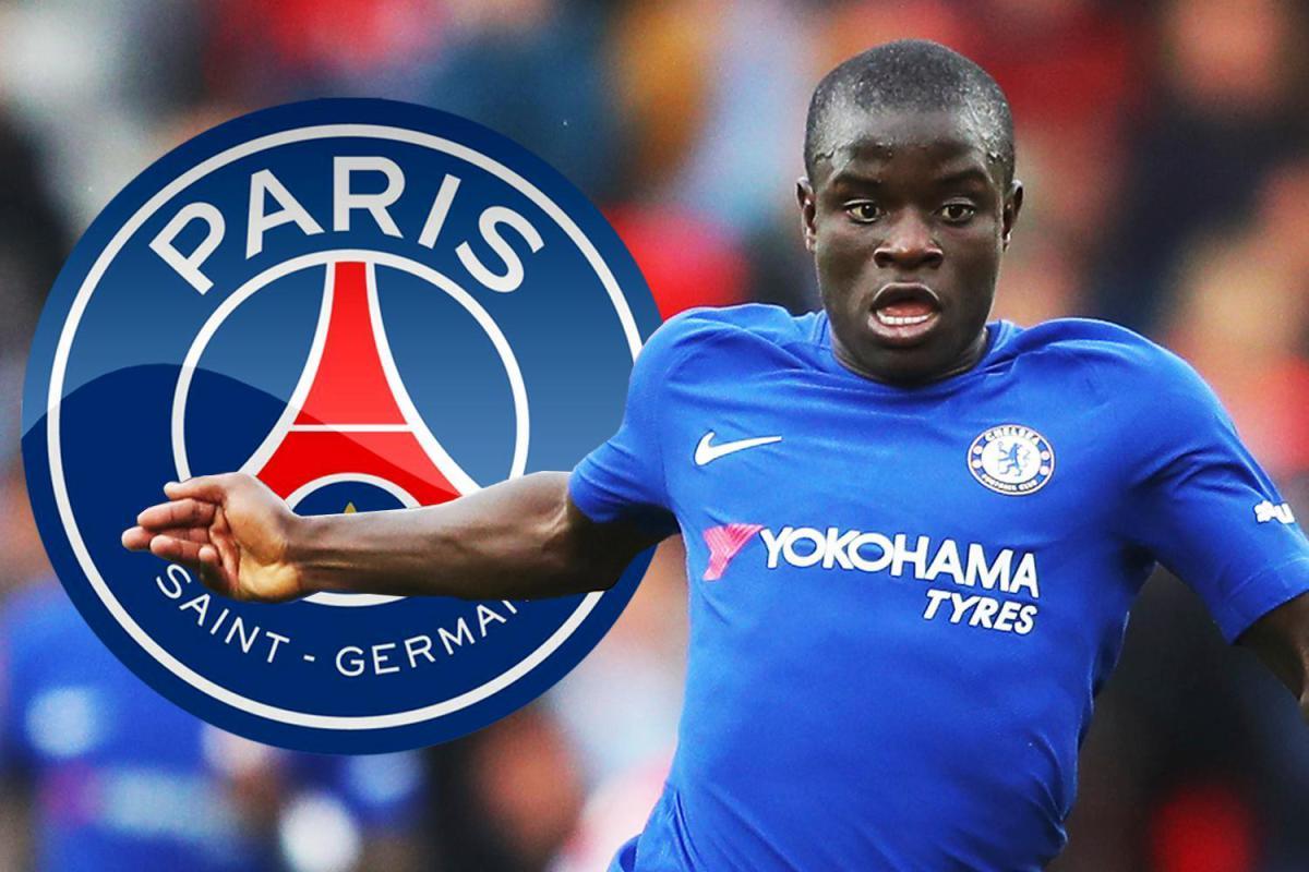 باريس سان جيرمان يسعى لضم كانتي لاعب تشيلسي بصفقة تاريخية
