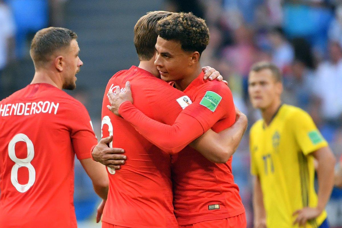 أهداف مباراة إنجلترا والسويد 2-0 كأس العالم 2018