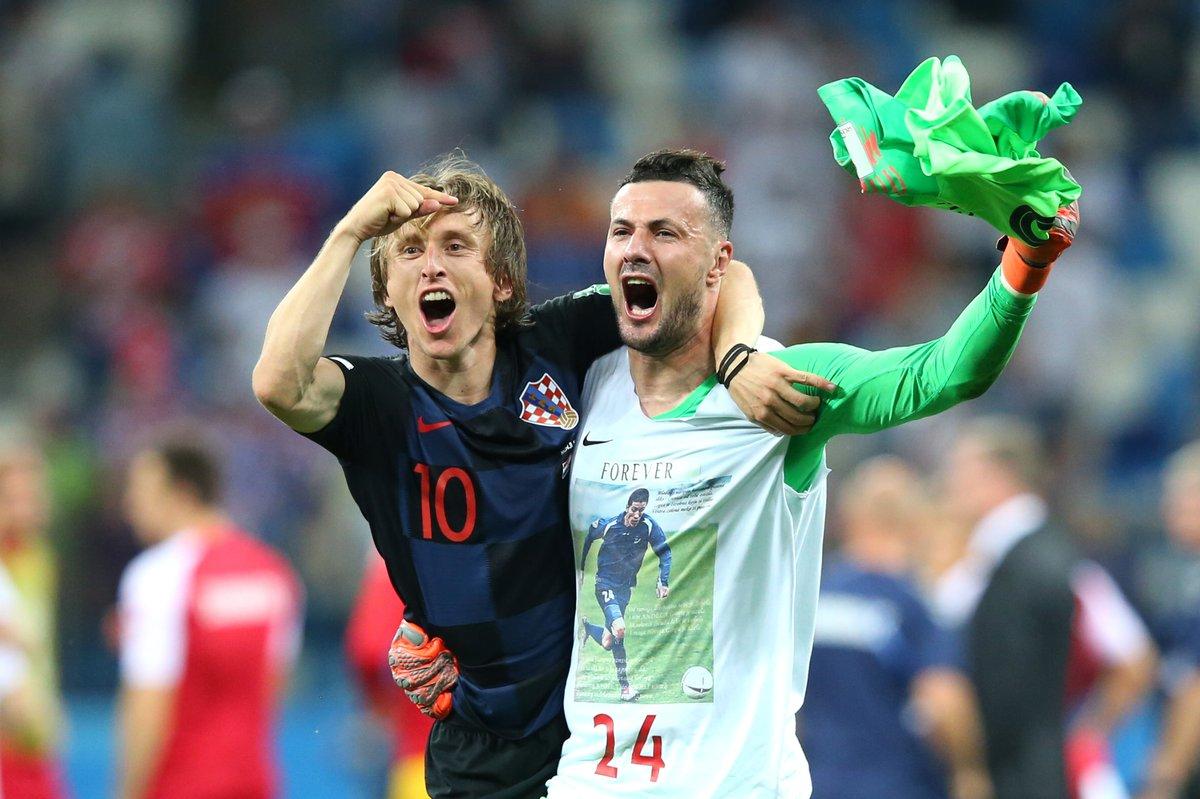 أهداف مباراة كرواتيا والدانمارك 1-1 (3-2) كأس العالم 2018