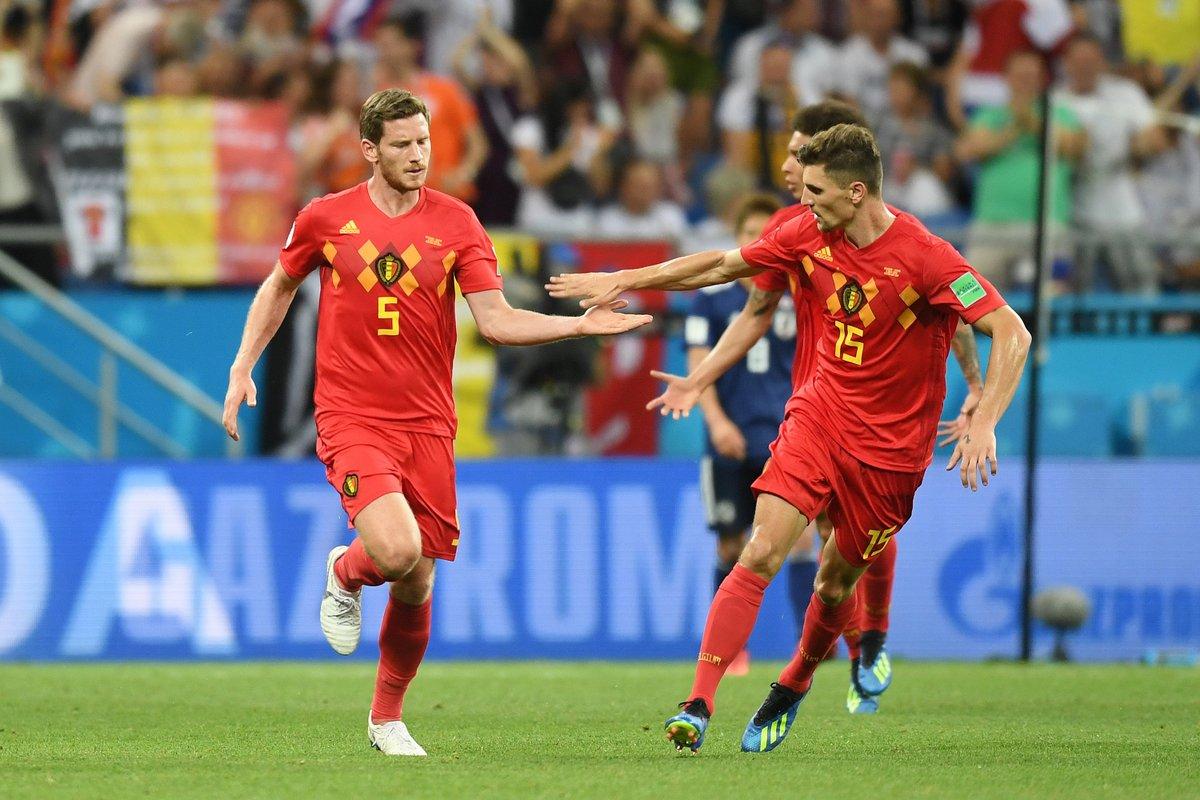 أهداف مباراة بلجيكا واليابان 3-2 كأس العالم 2018