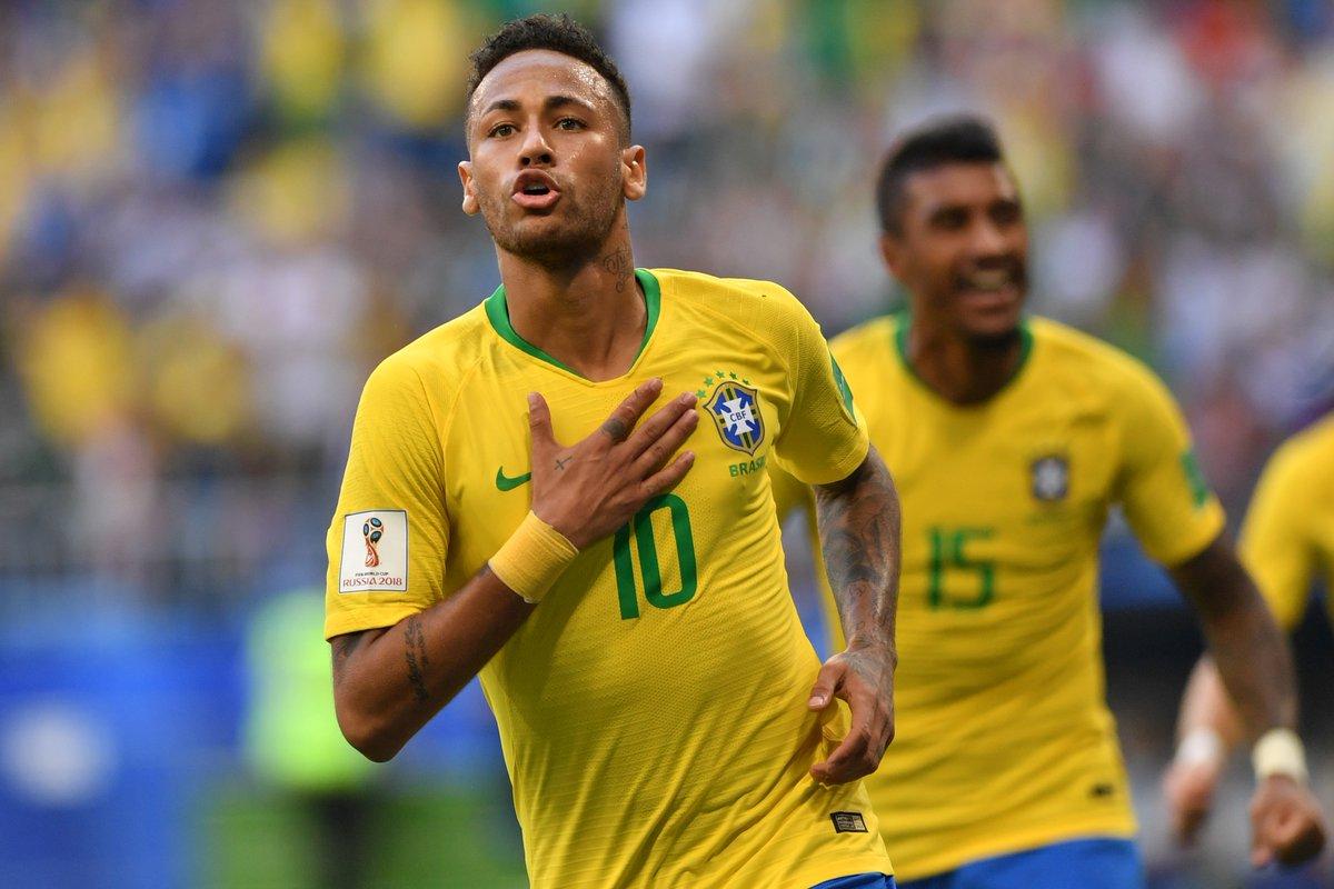 أهداف مباراة البرازيل والمكسيك 2-0 كأس العالم 2018