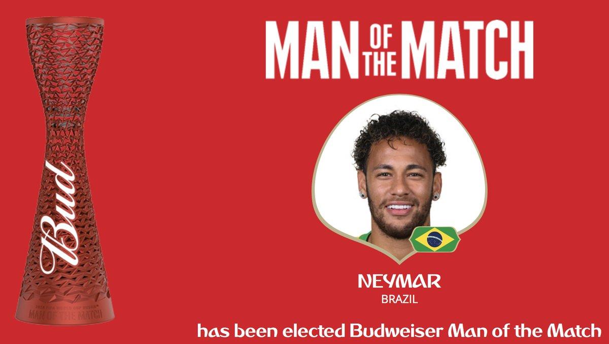 رسمياًَ … نيمار رجل مباراة البرازيل والمكسيك