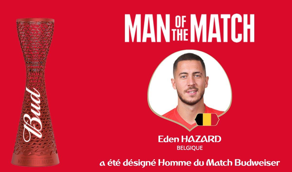 رسمياً … هازارد رجل مباراة بلجيكا واليابان