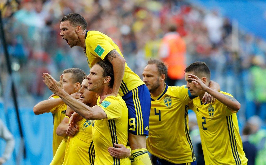 أهداف مباراة السويد وسويسرا 1-0 كأس العالم 2018