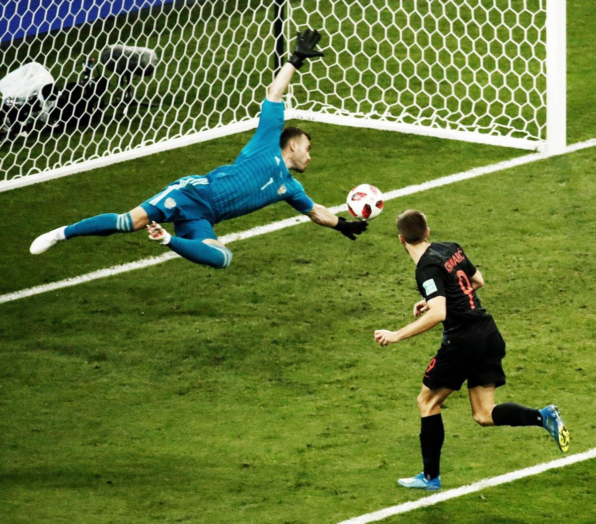 أهداف مباراة كرواتيا وروسيا 2-2  (4-3) كأس العالم 2018