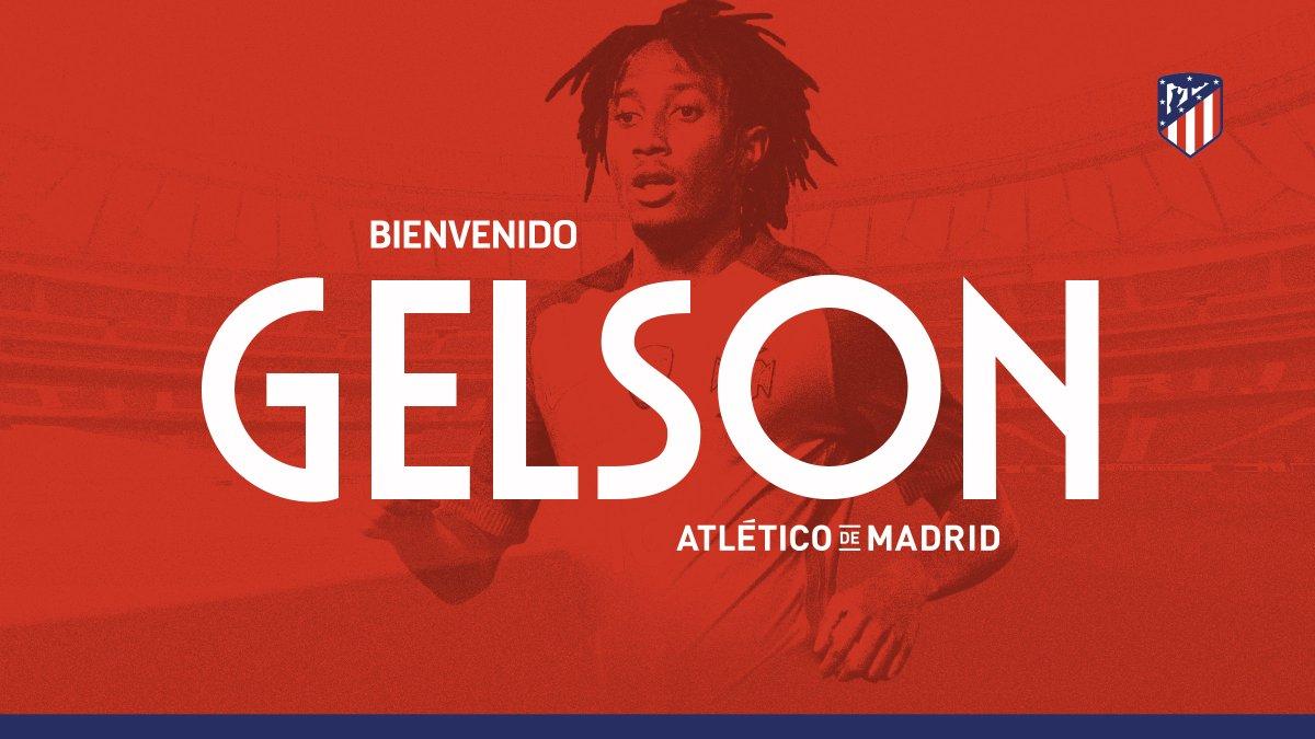 رسمياً … أتلتيكو مدريد يعلن ضم الموهبة البرتغالية جيلسون مارتينز