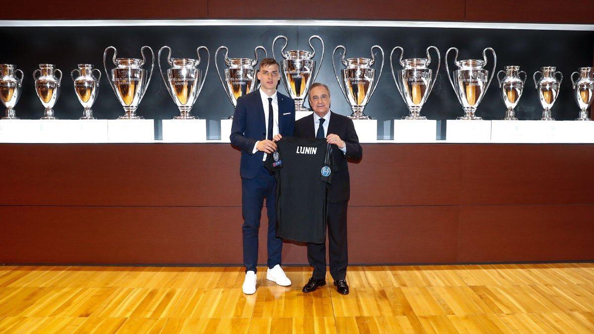 رسمياً … ريال مدريد يقدم حارسه الجديد لوسائل الإعلام