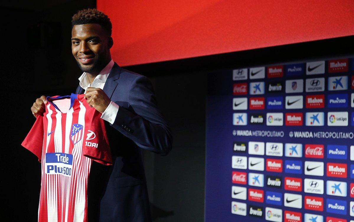 رسمياً … أتلتيكو مدريد يقدم لاعبه الجديد الفرنسي توماس ليمار