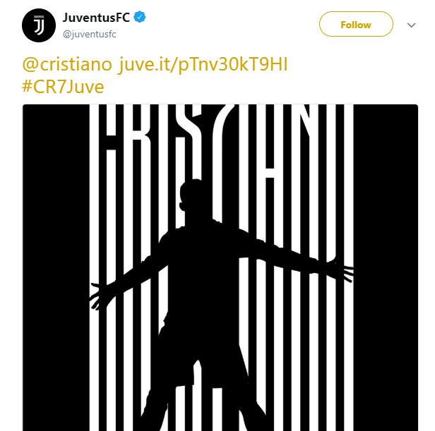 رسمياً: ريال مدريد يعلن عن انتقال كريستيانو رونالدو إلى يوفنتوس