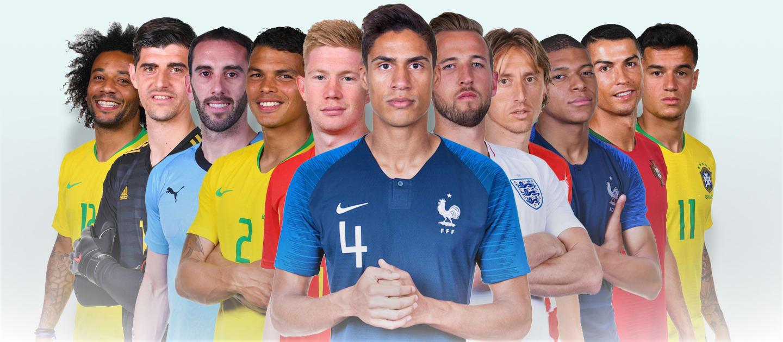 الفيفا يعلن نتائج تصويت الجمهور لاختيار أفضل 11 لاعبًا في كأس العالم
