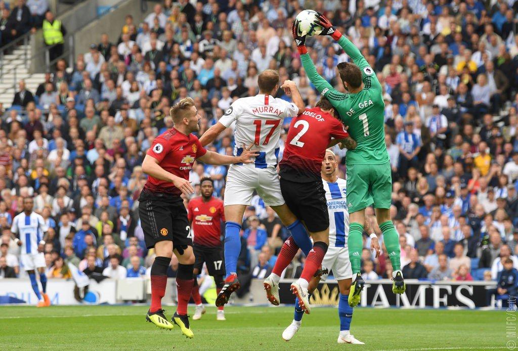 أهداف مباراة برايتون ومانشستر يونايتد 3-2 الدوري الإنجليزي