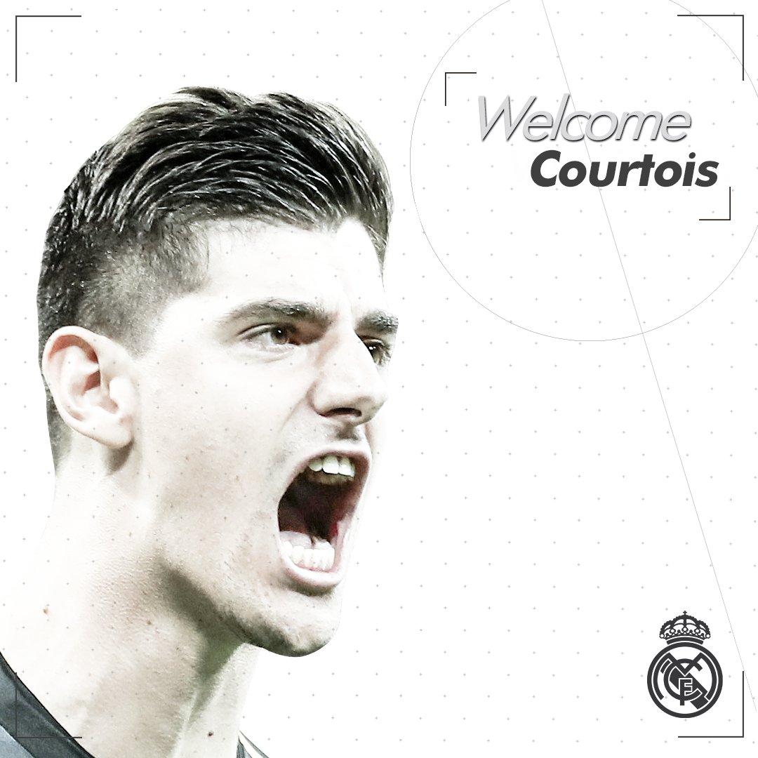رسمياً … الحارس تيبو كورتوا ينتقل من تشيلسي لريال مدريد