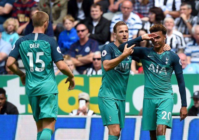 أهداف مباراة توتنهام ونيوكاسل 2-1 الدوري الإنجليزي