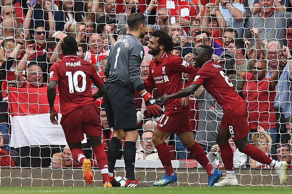 أهداف مباراة ليفربول وويست هام يونايتد 4-0 الدوري الإنجليزي