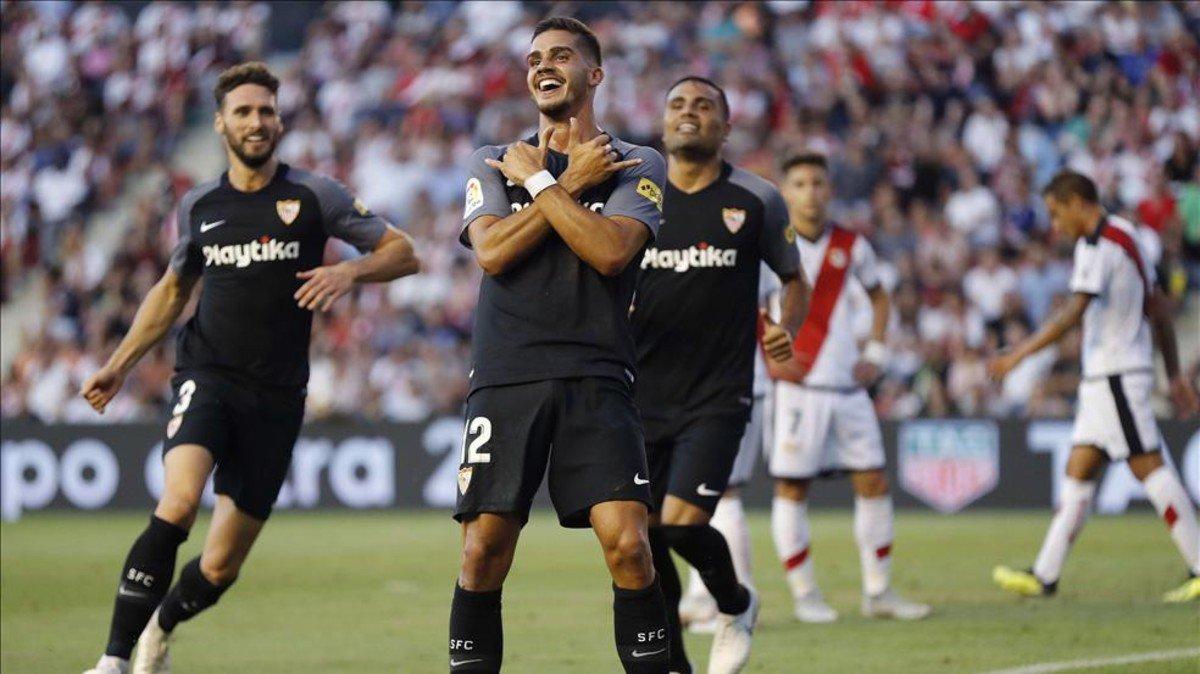 أهداف مباراة إشبيلية ورايو فاليكانو 4-1 الدوري الإسباني