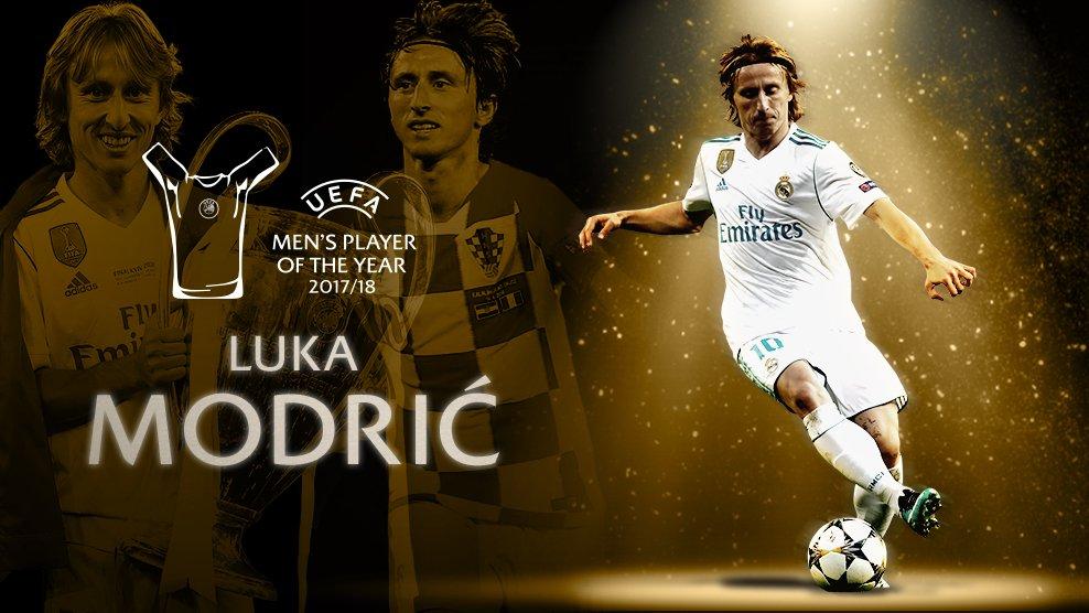 عاجل ورسمياً … لوكا مودريتش يفوز بجائزة أفضل لاعب في أوروبا