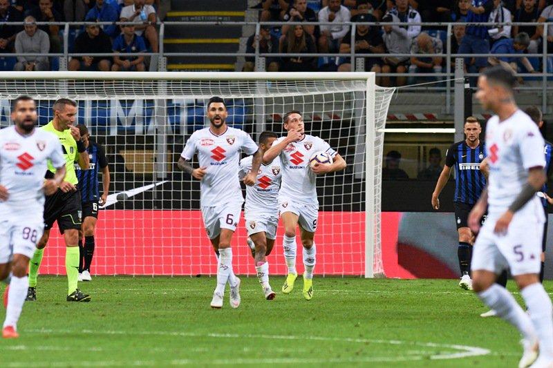 أهداف مباراة إنتر ميلان وتورينو 2-2 الدوري الإيطالي